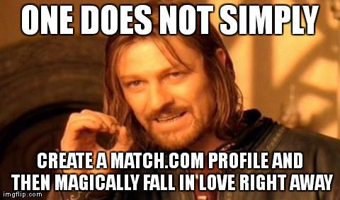Online dating isn