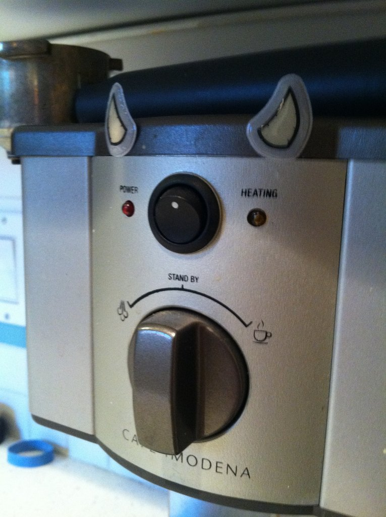 Why you so angry, coffee maker?