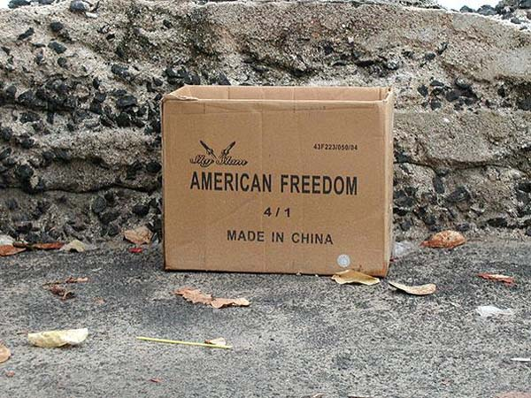 16.) But not an American box.