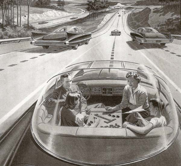 5.) Self-driving cars? Yes, please.